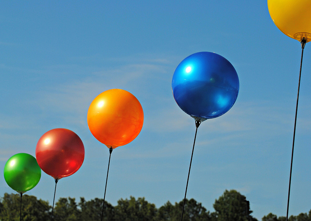 eligiendo entre globos