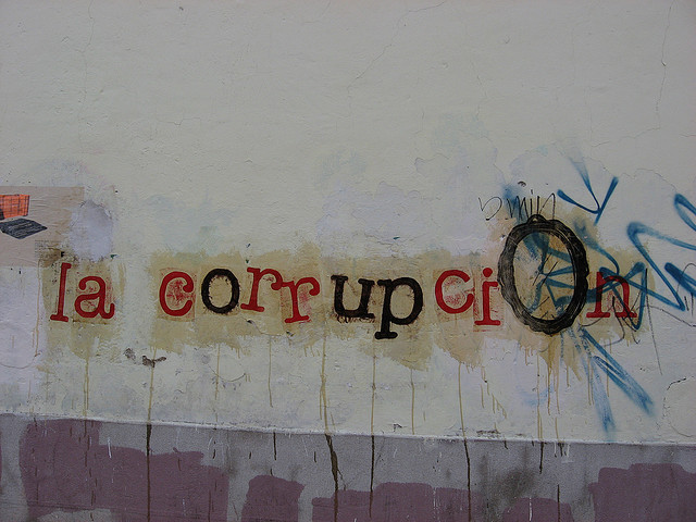 graffity corrupcion