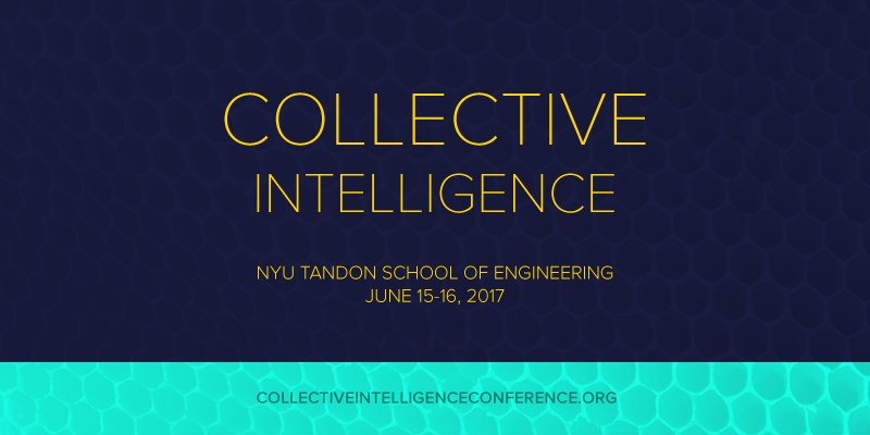 2017 Collective Intelligence Conference será en Nueva York